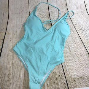 Light Aqua Bathing Suit